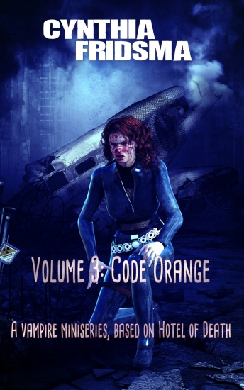 volume 3: code orange by Cynthia Fridsma